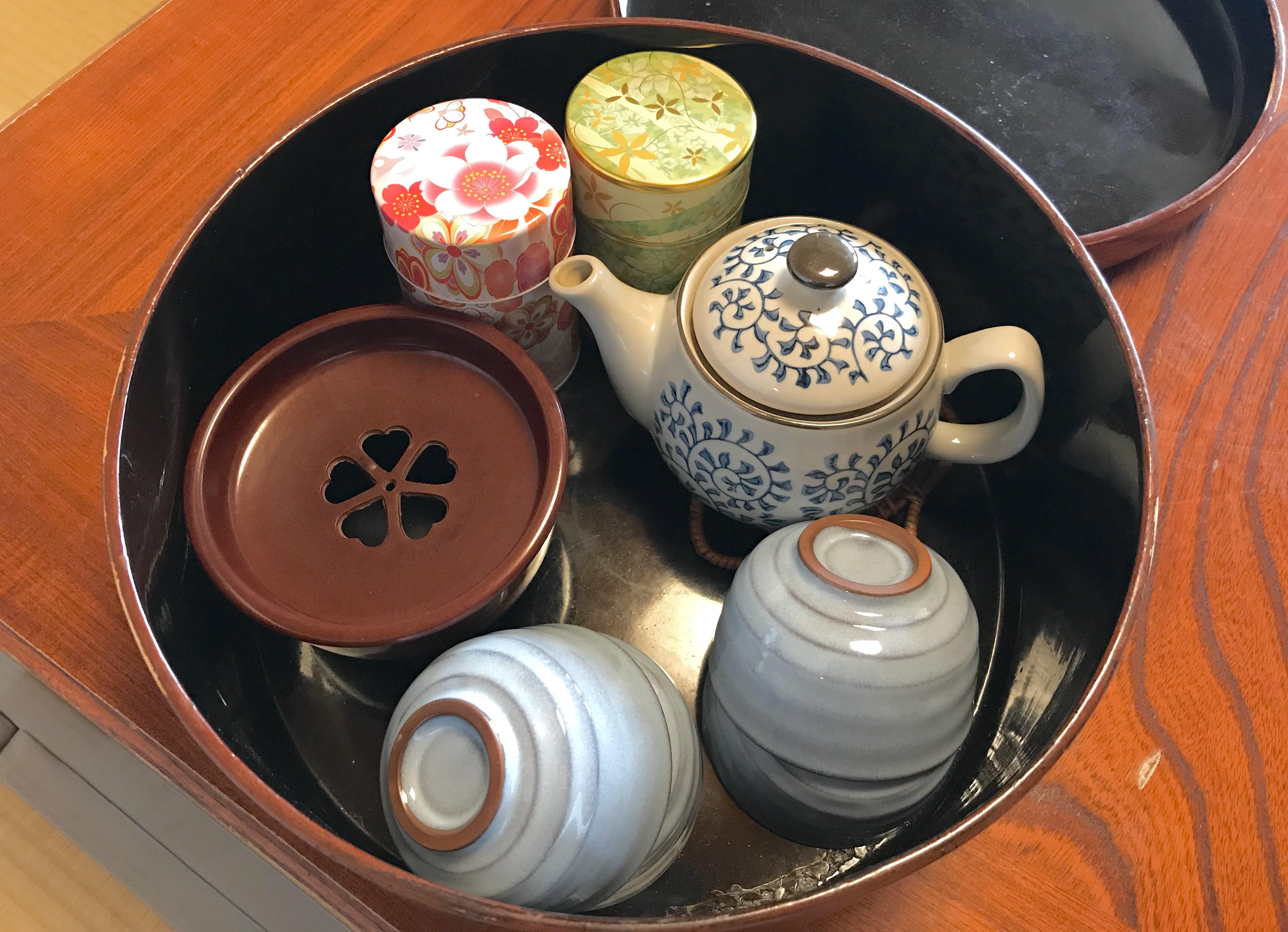 箱根強羅深山お茶セット